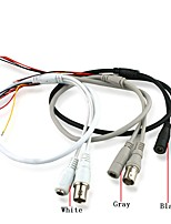 5-контактный открытый конец кабеля к разъему BNC женский 1 с входом 12В постоянного тока для камеры видеонаблюдения