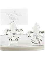 Fleur De Lis Place Card/Photo Holders Place Card Holder Beter Gifts Wedding Decorations