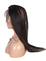 360 Lace Band Frontal Closures Ear To Ear Lace Frontal Straight Closures With Baby Hair 100% Human Virgin Hair