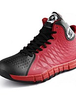 Men's Athletic Shoes Spring /  Winter Flats Microfibre Athletic Flat Heel Others Black / Blue / Green / Red Basketball