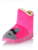 Women's Boots Fall / Winter Snow Boots Fleece Outdoor / Casual Flat Heel Others Pink / Purple / Red / Coral Snow Boots