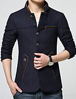 New winter men's fashion business woolen cloth coat leisure suit jacket HXTX-6839