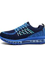 unisex Sportschuhe Frühjahr laufen / Komfort Stoff beiläufige flache Ferse blau / grün / rot Sneaker fallen