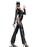 Costumes Déguisements d'animaux / Uniformes Halloween Noir Mosaïque Térylène Collant/Combinaison / Plus d'accessoires