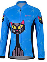 KEIYUEM® Cycling Jersey Women's / Men's / Unisex Long SleeveWaterproof / Breathable / Quick Dry / Anatomic Design / Rain-Proof /