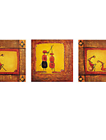 Modern Wall Art Pictures Abstract Oil Painting People Hand-Painted On Canevas Home Decoration Painting With Frame
