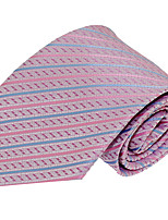 Wedding Party Polyester Silk Necktie Tie for Adult Men