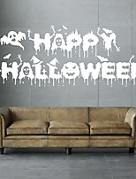 AYA DIY Wall Stickers Wall Decals Halloween Decoration HAPPY HALLOWEEN Type PVC Panel Wall Stickers 40*105cm