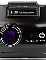 hp gravador de tráfego f550g hd 1440p monitoramento estacionamento de veículos inteligentes