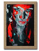 Pintados à mão Abstracto / Paisagem / Pessoas / Vida Imóvel / Fantasia / Retratos Abstratos Pinturas a óleo,Modern / Estilo Europeu1