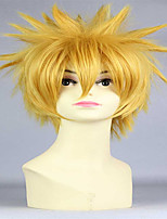 Golden Explosion Type Universal Short Cosplay Jin Muyan Anime Cos Wig