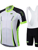Deportes® Maillot de Ciclismo con Shorts Bib Mujer / Hombres / Niños / Unisex Mangas cortasTranspirable / Secado rápido / Permeabilidad a