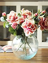 1 Branch Simulation Silk Flowers Gardenia Flower Home Furnishing European Decorative Flower