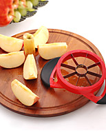 Apple Cutter Wedger Divider 8 Sharp Stainless Steel Blades & Best Ergonomic Rubber Grip Handle -May Fifteenth