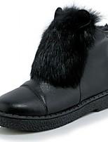Boty-Lakovaná kůže Koženka-Platformy Pohodlné Novinky Kovbojské Sněhule Lodičky Jezdecké boty Módní boty-Dámské-Černá Bílá Šedá-Svatba