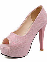 Women's Heels Spring / Summer / Fall Comfort Glitter Wedding / Office & Career / Party & Evening  /  HeelSparkling