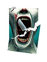 3D Wall Stickers Wall Decals Style Bloody Horror PVC Wall Stickers