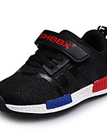 Unisex Sneakers Spring / Fall Round Toe PU / Leatherette Casual Flat Heel Magic Tape / Lace-up Black / Red / Royal Blue
