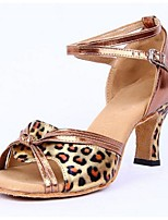 Women's Sandals Summer Sandals PU Outdoor Low Heel Others Brown / Silver Others