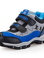 Unisex Sneakers Spring / Fall / Winter Comfort Suede Outdoor / Athletic / Casual Low Heel Hook & Loop Blue