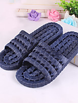 Men's Slippers & Flip-Flops Summer Slingback Rubber Casual Flat Heel Others Black Blue Gray Others