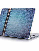 Blue Zipper Jeans Pattern Computer Shell For MacBook Air11/13   Pro13/15   Pro with Retina13/15   MacBook12