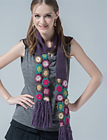 Alyzee  Women Acrylic ScarfFashionable Jewelry-B7007