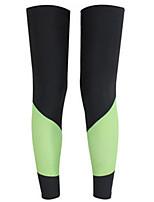 Beinlinge/Knielinge Fahhrad warm halten / Windundurchlässig / Sonnenschutz Damen Schwarz LYCRA®