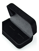 Jewelry Boxes Resin 1pc Black