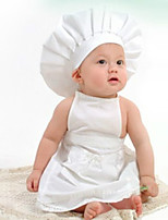 Kid's Photography Prop Birthday Chef Hat and Pants(0-12Month)