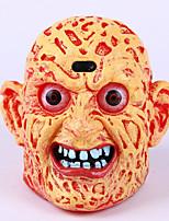 פנס ראש רפאים רפאים אימה אינדוקציה מנורה פרצוף מחייך מבט מנורת 1pc ליל כל הקדושים