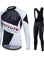 Deportes® Chaqueta de Ciclismo Mujer / Hombres / Unisex Mangas largasTranspirable / Mantiene abrigado / Secado rápido / Forro Polar /