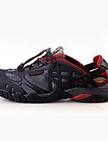 גברים-נעלי ספורט-טול-נוחות-שחור / אפור-קז'ואל-עקב שטוח