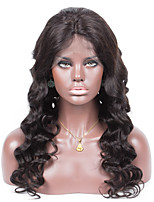High quality Peruvian virgin hair wave 100% human hair full lace wig