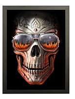 3D Lenticular Arts Pirates of the Caribbean skull