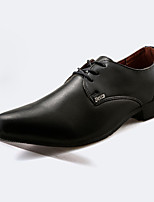 Men's Sneakers Spring / Fall Comfort PU Casual Flat Heel  Black / White Sneaker