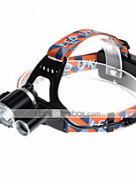 U`King® Headlamps / Headlamp Straps LED 5000LM Lumens 4 Mode Cree XM-L T6 18650 Rechargeable / Compact SizeCamping/Hiking/Caving /