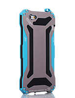 Para Funda iPhone 6 / Funda iPhone 6 Plus Antipolvo / Antigolpes / Impermeable Funda Cubierta Trasera Funda Armadura Dura Metal Apple