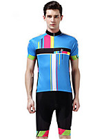 Sports® Cycling Jersey with Shorts Unisex Short Sleeve Breathable / Windproof / Wearable / Comfortable / Sunscreen BikeClothing