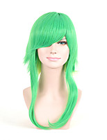 cosplay perruque Perruques pour femmes Vert Perruques de Costume Perruques de Cosplay