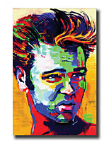 Modern Wall Art Oil Painting Abstract People Man Hand Painted On Canvas With Stretched Frame