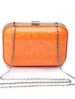 L.west Women Elegant High-grade Fashion Color Bright Evening Bag