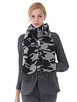Damen Wolle Schal,Rechteck Herbst / Winter