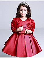 Girl's Going out Solid Suit & BlazerCotton / Polyester Winter / Spring / Fall Red