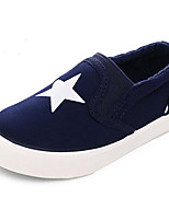 Boy's Sneakers Fall Flats Canvas Casual Flat Heel Others Black / Blue / Red Others