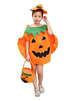 More Accessories More Costumes Halloween Orange Jacquard Engineering Plastic Leotard/Onesie / Bags and Purses / Hat