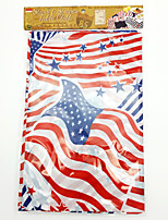 American independence day PE printed cloth long table for the flag of the United States