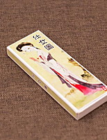 Ladies Classic Retro Style Cute Bookmark Chinese Literary Fine Paper Manufacturers Custom