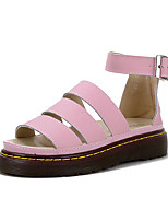 Women's Sandals Summer Sandals / Open Toe Nappa Leather Casual Flat Heel Others Blue / Pink Others
