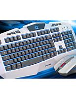 costume blanc u u trois couleurs jeu rétro-éclairage clavier ou costume